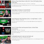 YouTube Removes 100+ Poker Videos by Jaime Staples, Evan Jarvis, Vloggers