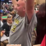 Man Exposes Himself at Table, DQ'ed from WSOP Main Event (VIDEO)