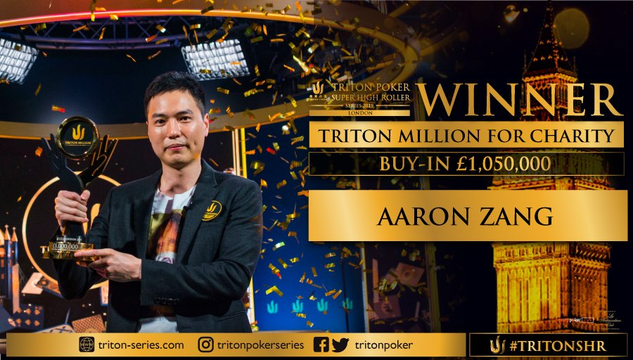 Triton Million poker tournament