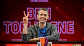 PLO Crusher Ben Tollerene Wins British Poker Open £100K NLH Finale
