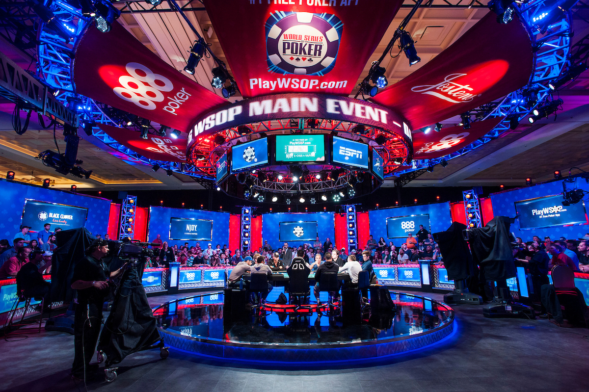 WSOP Main Event poker tournament