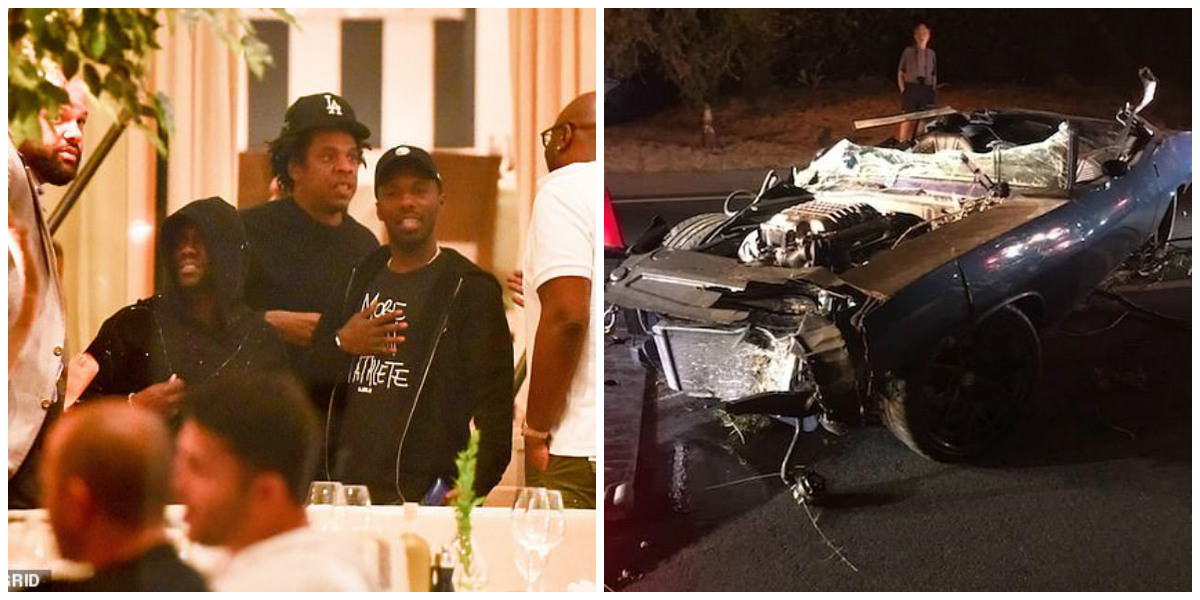 Kevin Hart accident Jay-Z