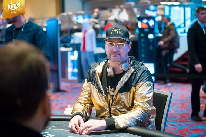 Phil Hellmuth WSOP Europe poker