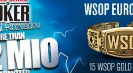 WSOP Europe Live Streaming Available on PokerGo App