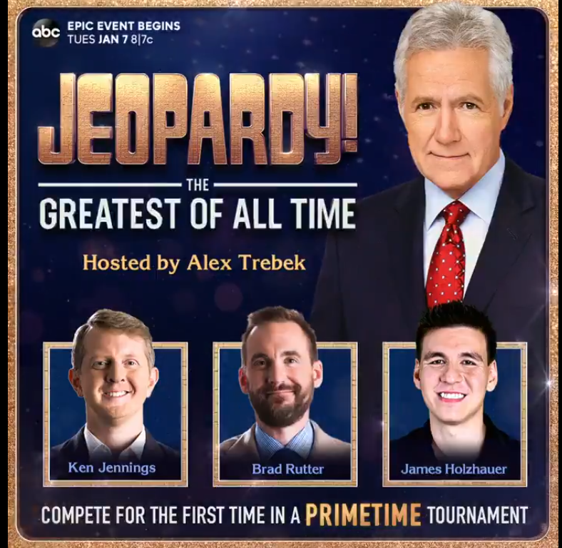 James Holzhauer Ken Jennings Jeopardy