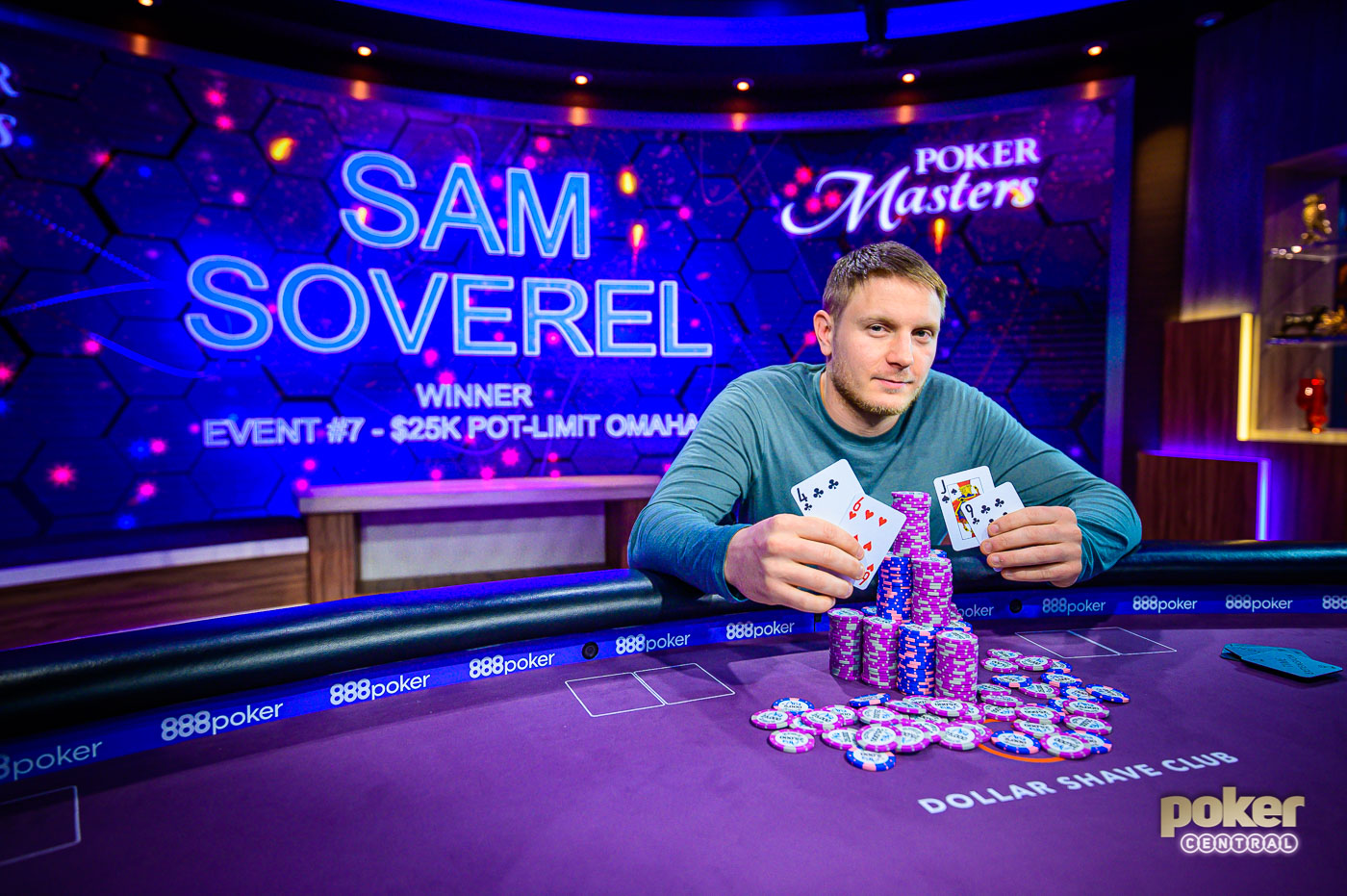 Sam Soverel poker masters