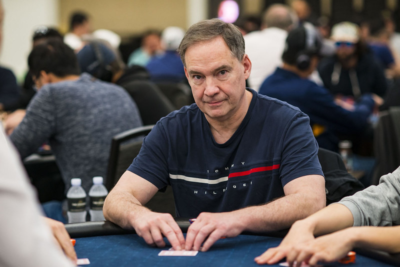 LA poker classic Ted Forrest