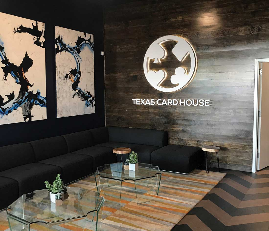 Texas card house poker dallas