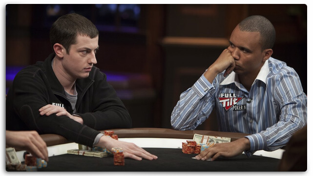 Tom Dwan Phil Ivey looking for betting tells
