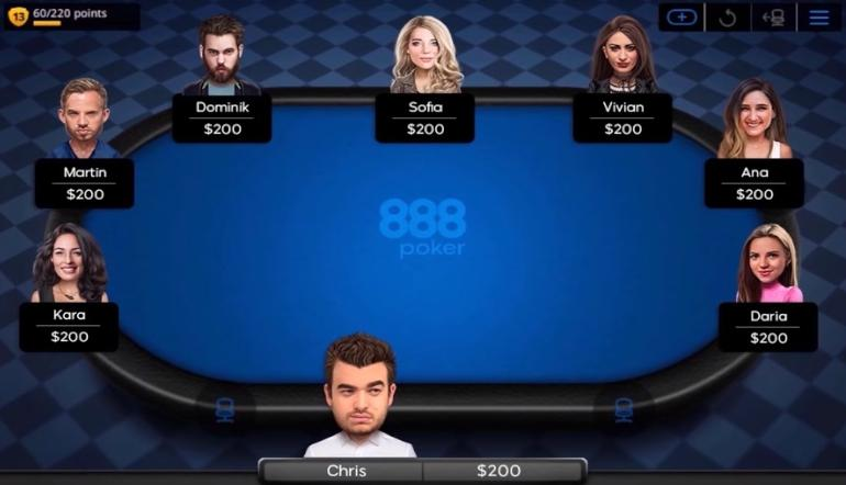 888 Poker home games