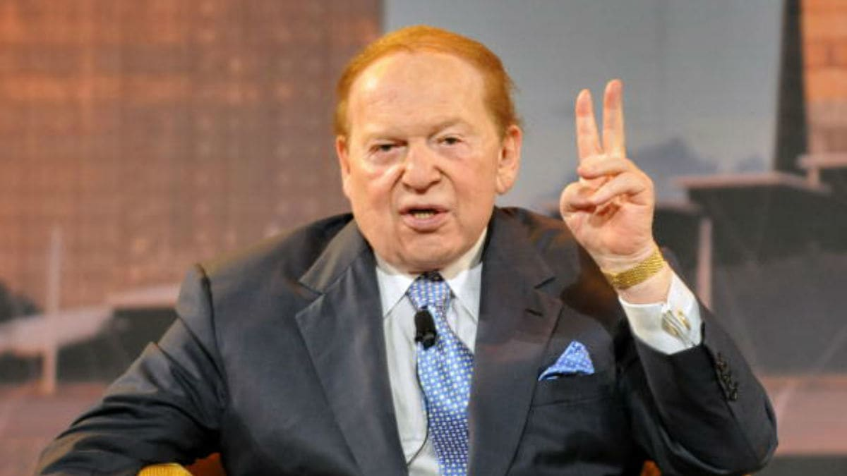 sheldon adelson two months