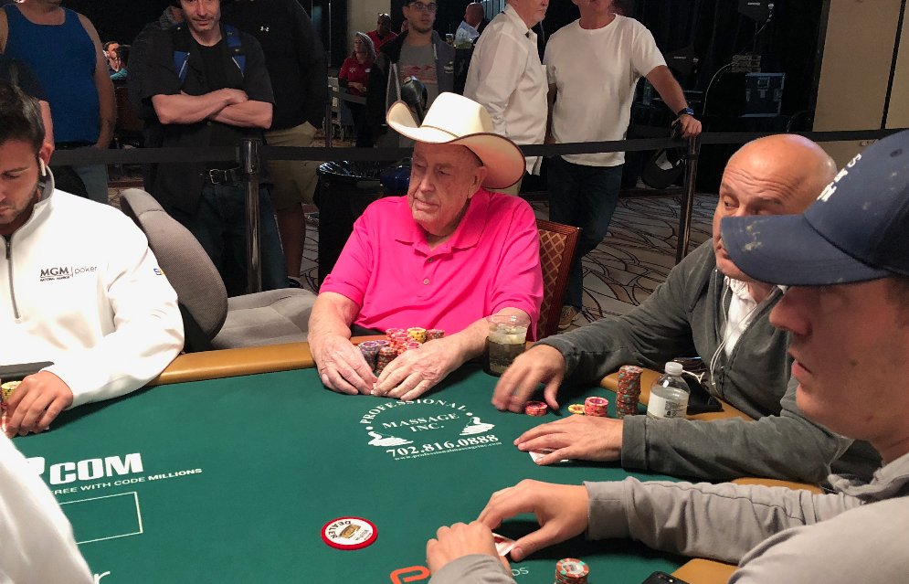 Doyle Brunson retirement poker