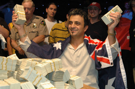Joe Hachem 2005 WSOP