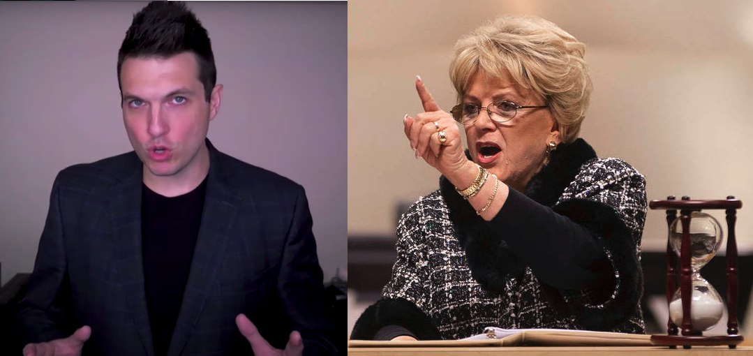 Doug Polk and Carolyn Goodman