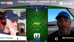 Choker chess poker tournament