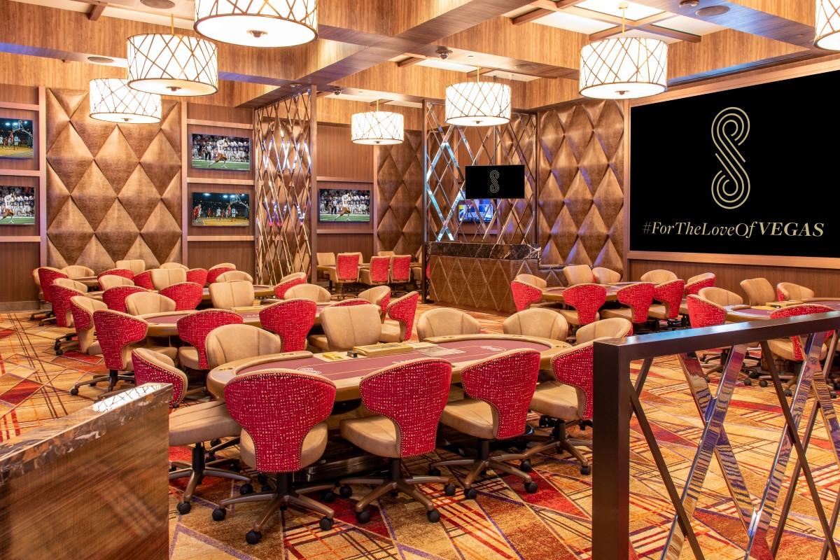 Las Vegas poker rooms Sahara