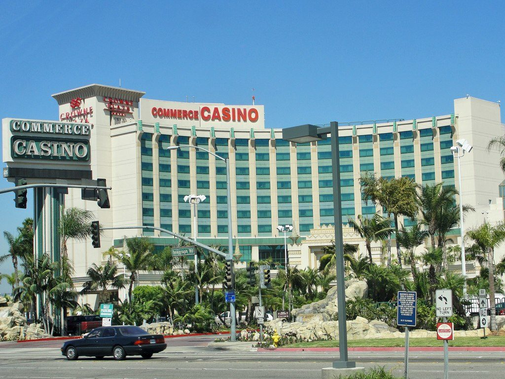 Los Angeles poker rooms Commerce