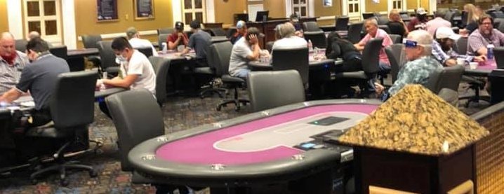 Orleans poker room after reopening
