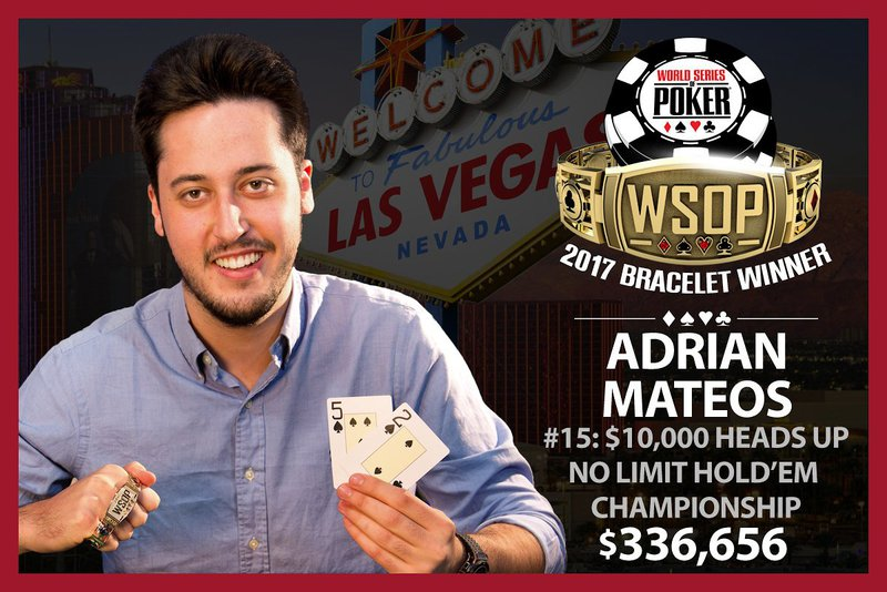 high roller tournament pro Adrian Mateos