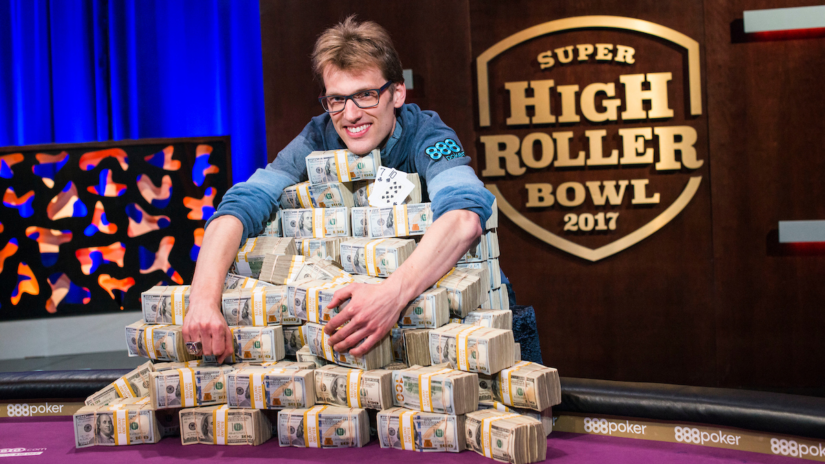 high roller tournament pro Christoph Vogelsang