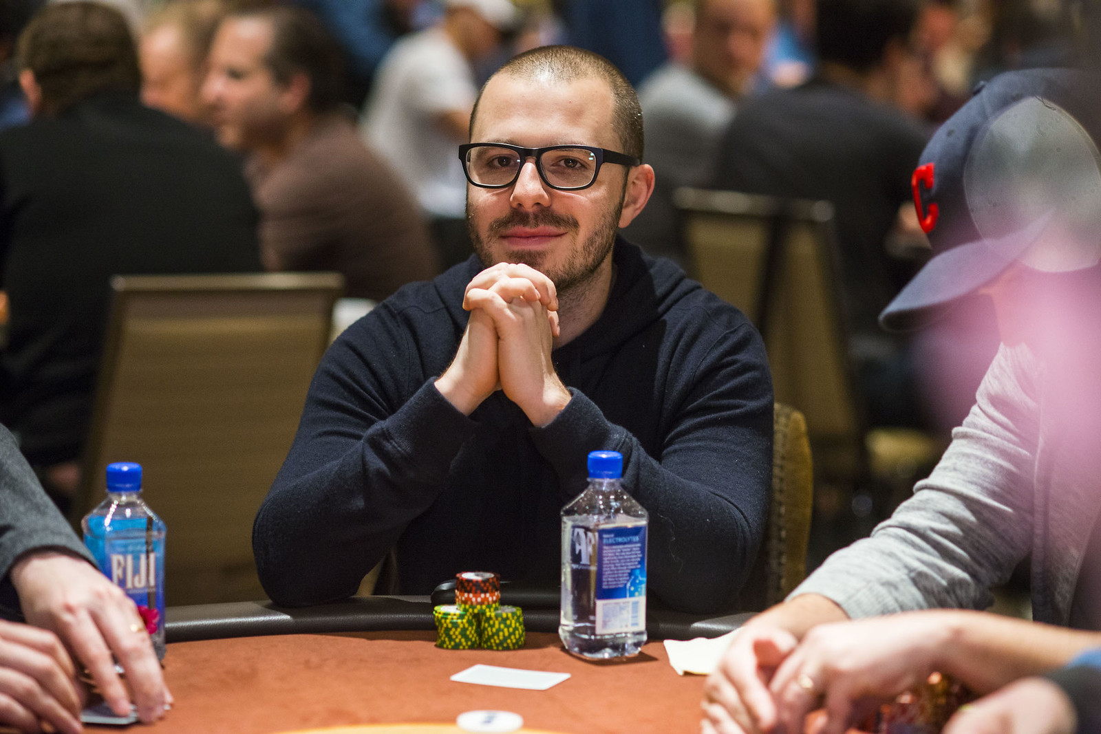 high roller tournament pro Dan Smith