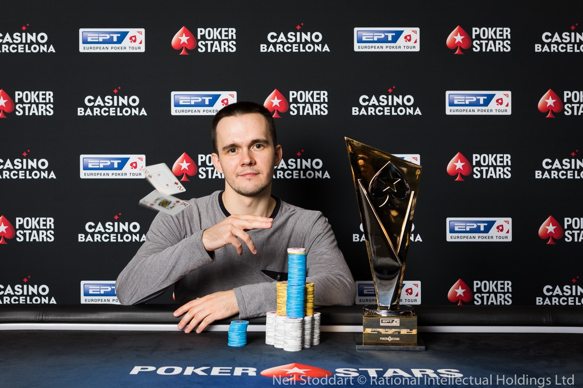 high roller tournament pro Mikita Badziakouski
