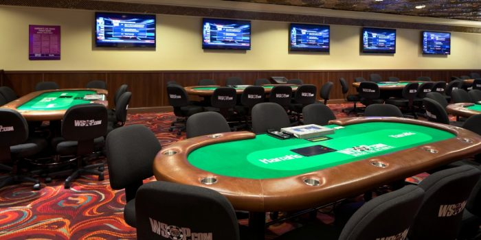 Harrah's poker room Las Vegas