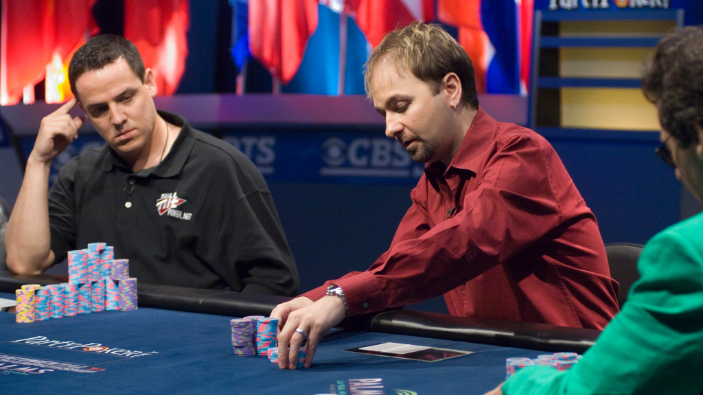 Daniel Negreanu betting