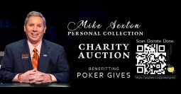 Mike Sexton charity auction