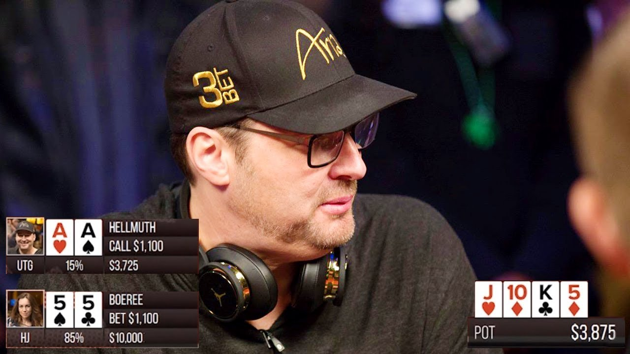 Doyle Brunson Phil Hellmuth