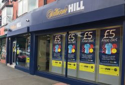 William Hill betting store