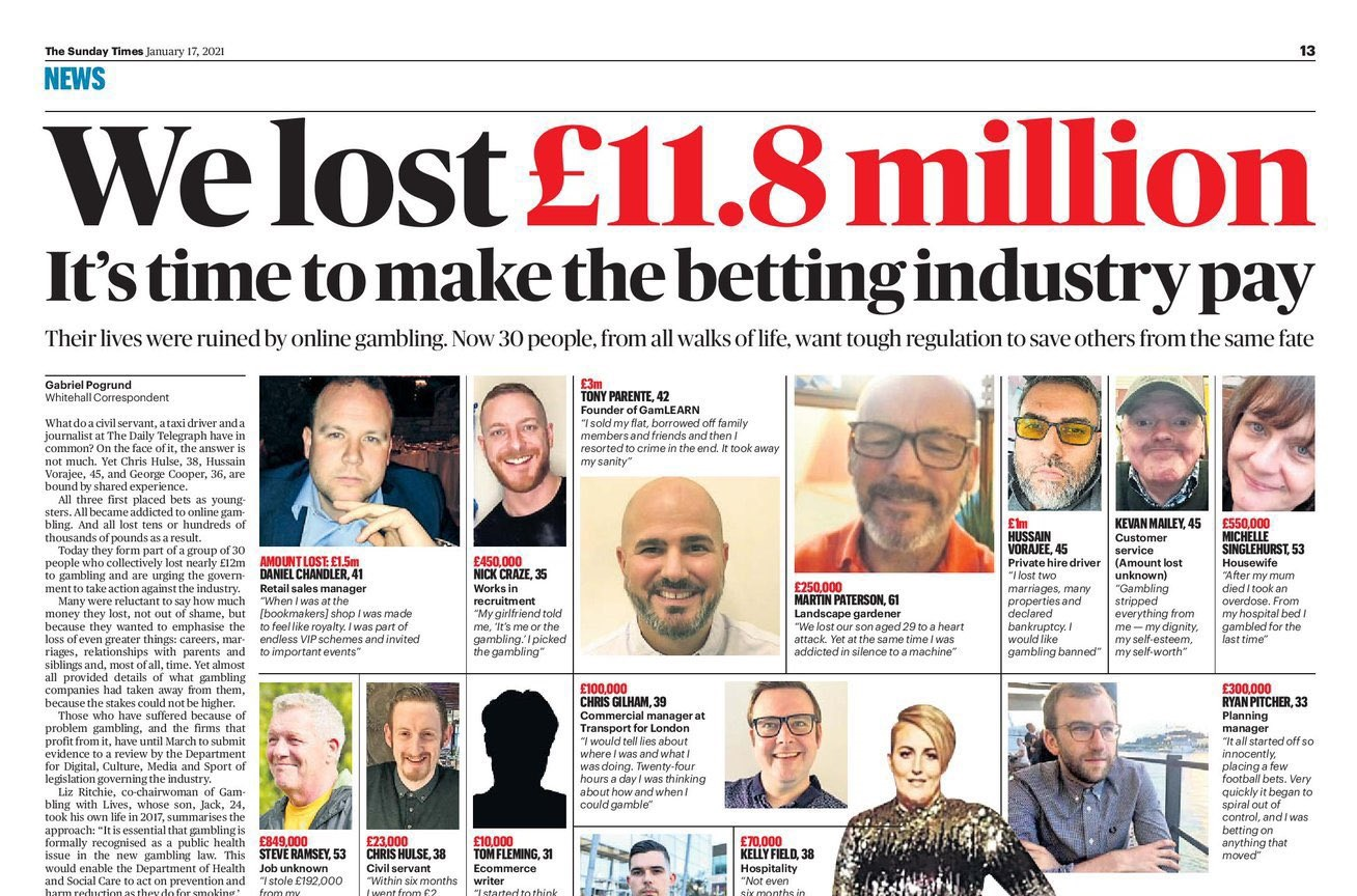 UK gambling headlines