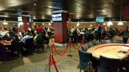 Portland Meadows poker room