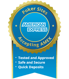 American Express Poker Sites