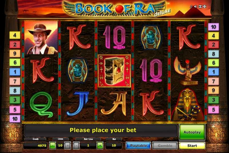 best online casino games book or ra