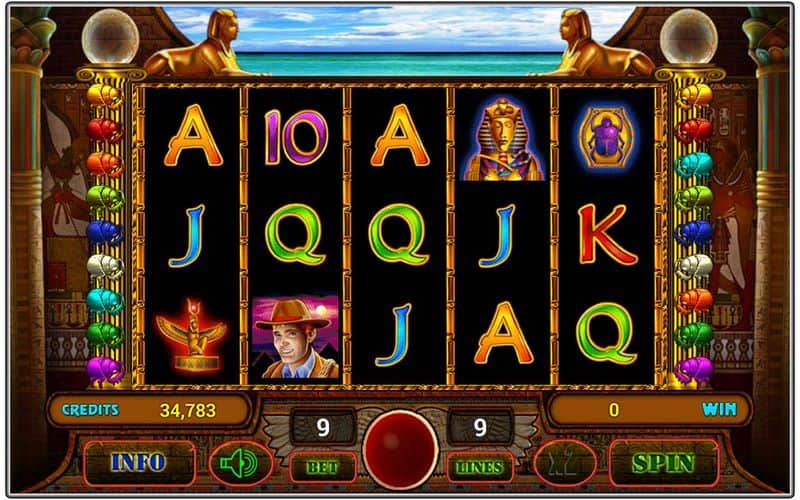 free online casino slots book of ra