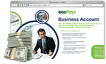ecoPayz Business Account