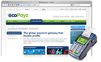 ecoPayz Merchant Account