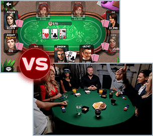 online home games poker