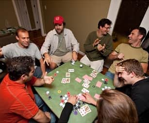 Home poker games okc