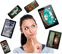 Casinos for mobile devices