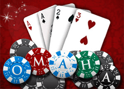 how to play omaha hi low poker video