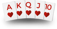 Texas Holdem Hands - Royal Flush