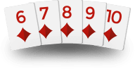 Texas Holdem Hands - Straight Flush
