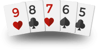 Texas Holdem Hands - Straight