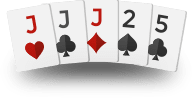 Texas Holdem Hands - Three of a Kind