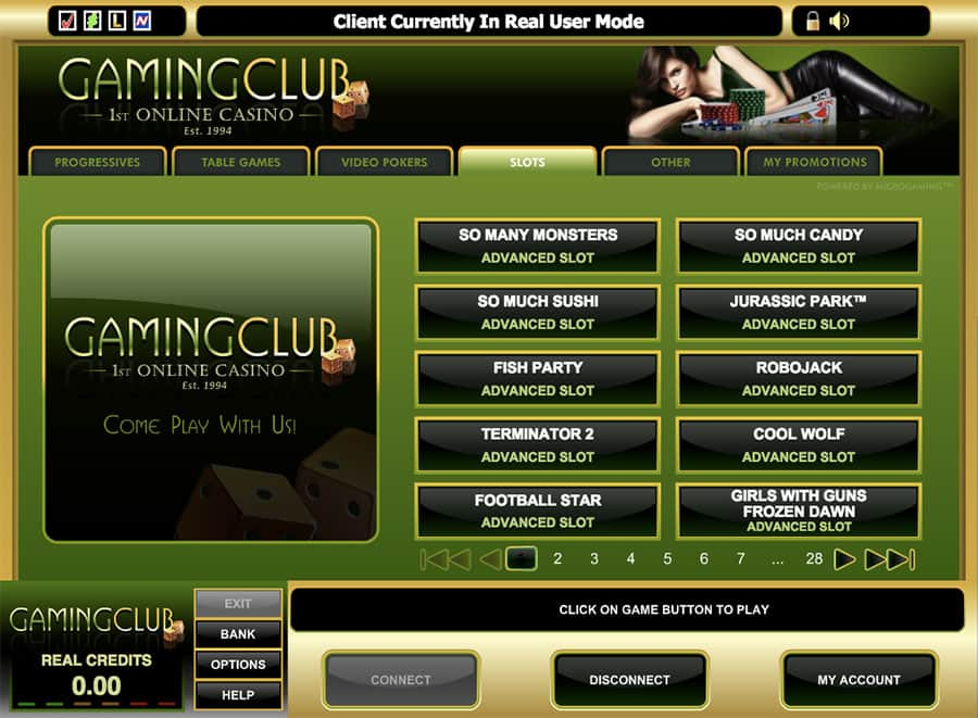 Casino club gaming online wigan casino clothing