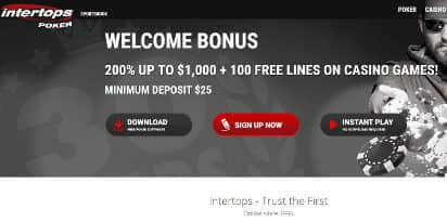 100 casino free get intertops up poker calgary casino