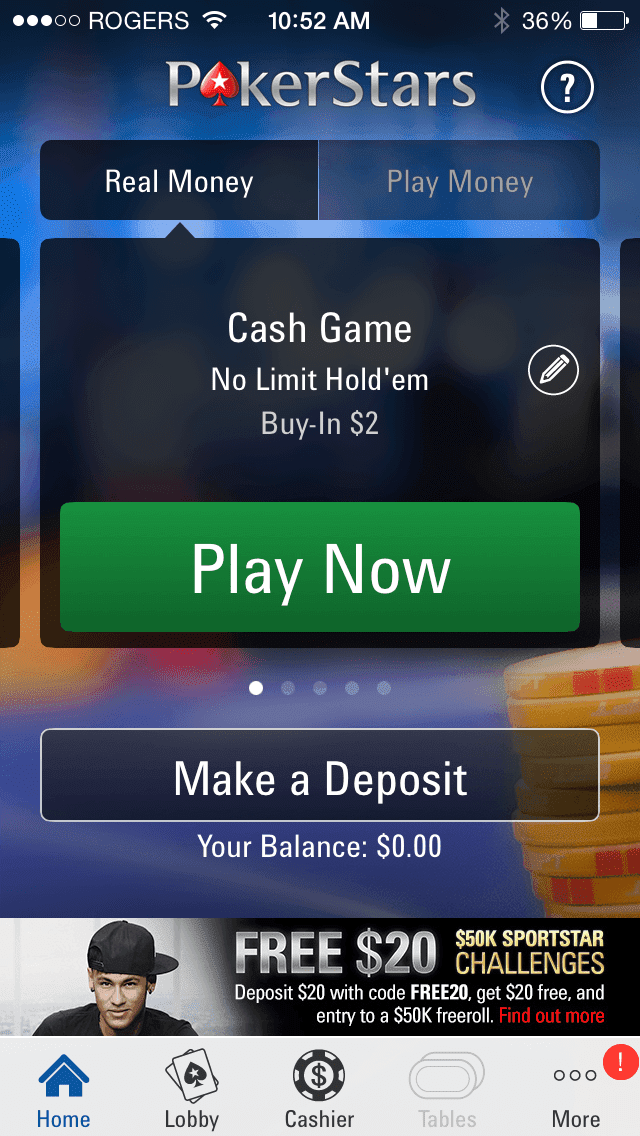 poker app with real money