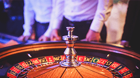 Fancy roulette wheel